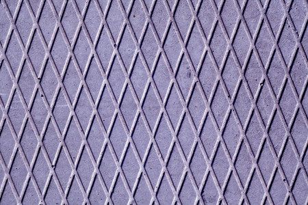dirty: Blue color cement floor with rhombus pattern. abstract background and texture for design.