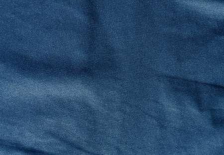 blue color textile pattern. Abstract background and texture.