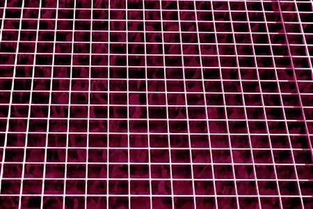 Metal grid texture in pink tone. Abstract background and texture for design.