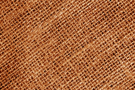Cotton fabric texture in orange color. Abstract background and texture.