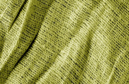 Cotton fabric texture in yellow color. Abstract background and texture. Banque d'images