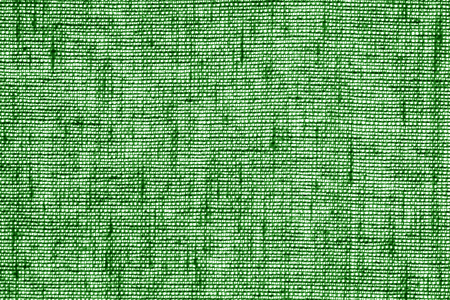 Cotton fabric texture in green color. Abstract background and texture.