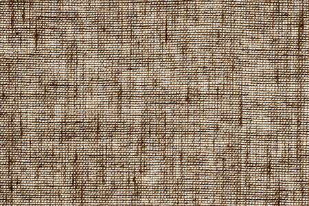 Cotton fabric texture in brown color. Abstract background and texture.