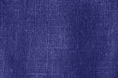 Sack cloth texture in blue color. Abstract background and texture for design. Banque d'images