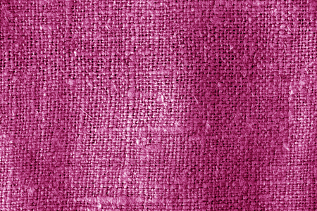 Sack cloth texture in pink color. Abstract background and texture.