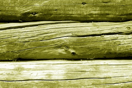 Old wooden wall in yellow color. Abstract background and texture for design. Stock fotó