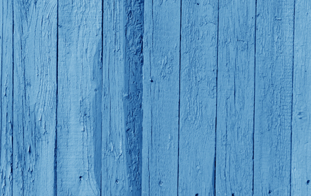 Old wooden wall in navy blue color. Abstract background and texture for design.