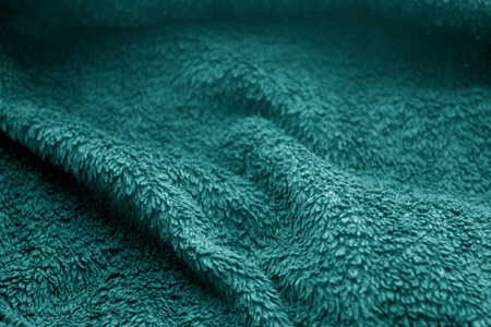 Sack cloth texture with blur effect in cyan color. Abstract background and texture. 免版税图像
