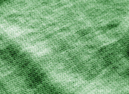 Cotton cloth texture in green tone. Abstract background and texture for design.