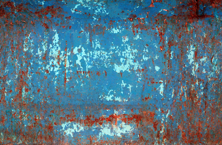 Grungy rusted metal wall texture. Abstract background and texture for design.