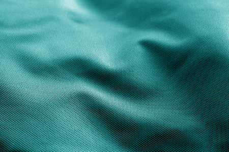 Sack cloth texture in cyan color. Abstract background and texture.