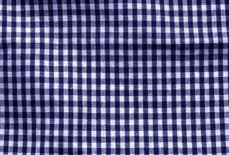 Texture de tissu à carreaux dans le ton bleu. Abstrait et texture pour la conception.