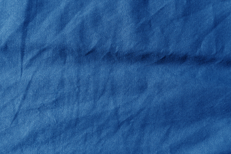 Sack cloth texture in navy blue color. Abstract background and texture.