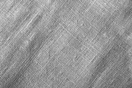 Sack cloth textue in black and white. Abstract background and texture.
