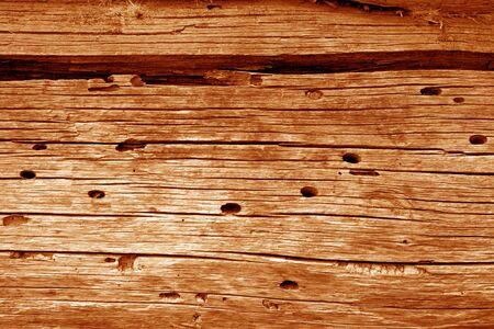 Drewniane ściany tekstury w kolorze pomarańczowym. Streszczenie tło i tekstura dla projektu.