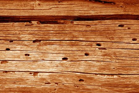 Textura de pared de madera en color naranja. Fondo abstracto y textura para el diseño.