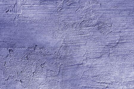 cracked weathered cement wall texture in blue color. Abstract background and texture for design.