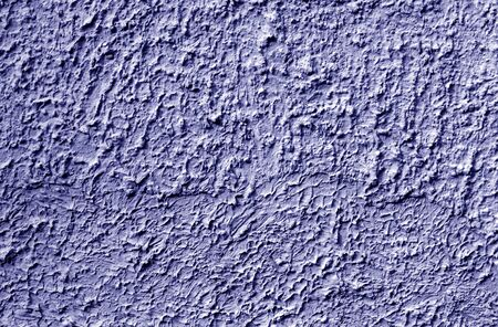 Grungy cement wall texture in blue color. Abstract background and pattern for design.