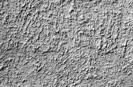 Grungy cement wall texture in black and white. Abstract background and pattern for design. Stock fotó - 130042397