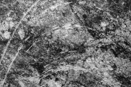 Marble stone background in black and white. Abstract architectural background and texture for design.