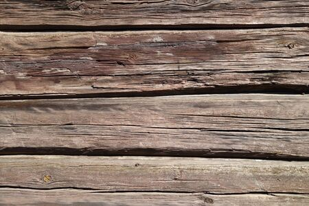 Brown color old wooden wall. Abstract background and texture for design.