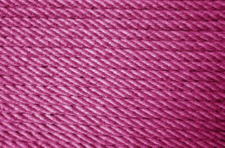 Jute rope pattern in pink color. Abstract background and texture for design.