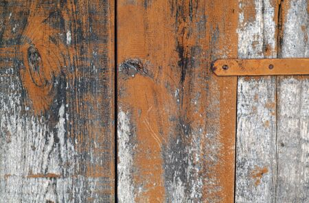Grungy wooden planks background. Abstract background and texture for design. Stock fotó