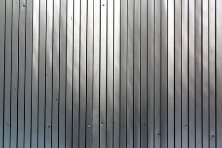 Metal list wall texture of fence. Abstract background and texture for design.