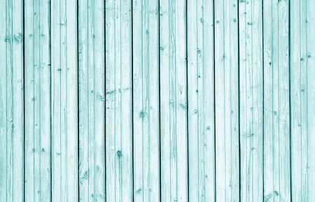 Wooden wall texture in cyan tone. Abstract background and texture for design. Stock fotó