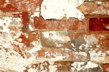 Old grungy brick wall texture. Abstract architectural background and texture for design. Stock fotó