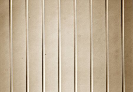 Plastic siding surface in brown tone. Abstract background and texture. Stock fotó