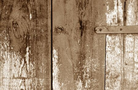 Grungy wooden planks background in brown color. Abstract background and texture for design.