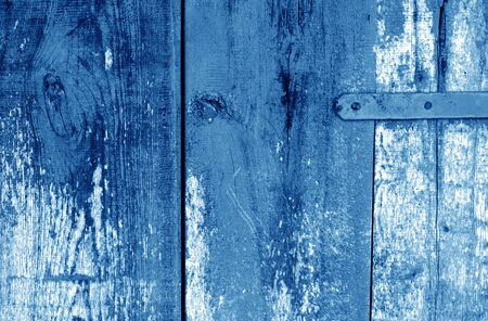 Grungy wooden planks background in navy blue color. Abstract background and texture for design. Stock fotó