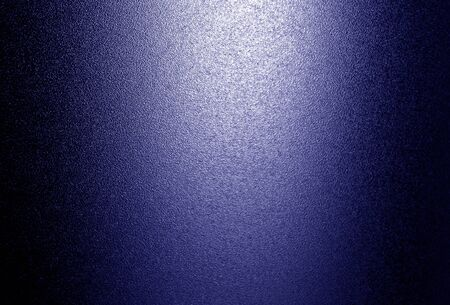 Ground glass texture with light in blue tone. Abstract background and pattern for designers.