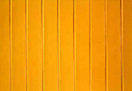 Yellow color plastic siding surface. Abstract background and texture. Stock fotó