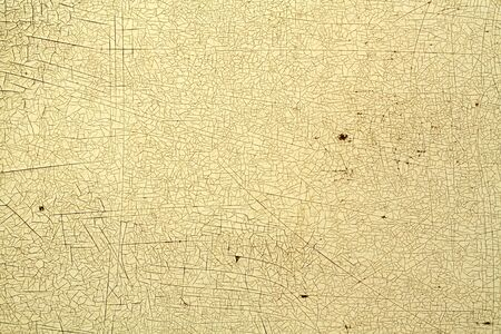 Cracks on metal colored texture. Abstract background and texture for design. Standard-Bild - 134736873