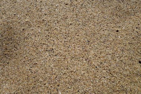 Beach sea sand close-up. Seasonal natural background. Banque d'images