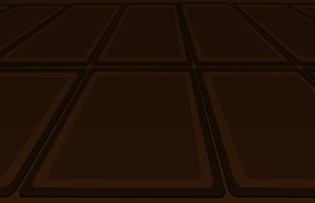 flooring: Flooring chocolate color, passing in the distance