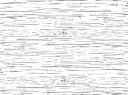 Nahtlose Muster texturiert Holz Risse. Vektorgrafik