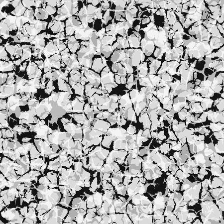 piso piedra: mármol gris, o el granito. Vector de imagen estilizada. patrón sin fisuras Vectores