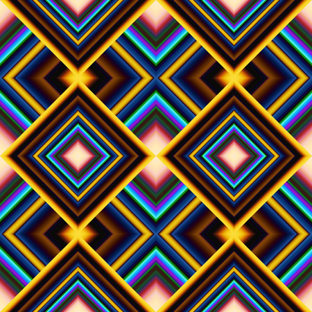 oriented: colorful bright seamless pattern of rhombuses stripe
