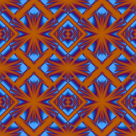 seamless pattern of randomly ordered elements rhombic structure in Matt colours