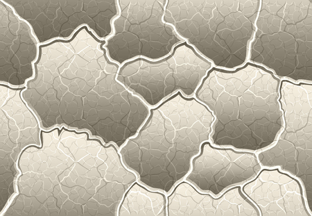 volumetric convex decorative plaster with the allocation of seams and cracks pattern seamless pattern for 3d elements