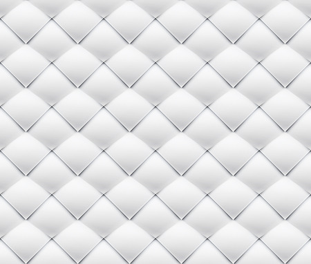 folksy: White silk patchwork seamless pattern waves overlapping