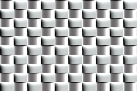 Abstract metal seamless pattern of polished elements of the Simulation volume.