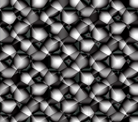 Abstract seamless pattern simulating the abrasive surface of sandpaper or some kind of complex crystal lattice Ilustracja
