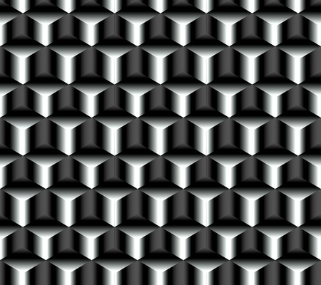 Abstract seamless pattern simulating structural crystalline graphite surface