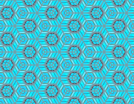 Abstract seamless pattern bright colours on a geometric background for packaging design
