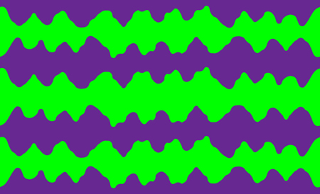 Abstract seamless pattern of chaotic waves in the style of 80 x. Bright contrasting colors