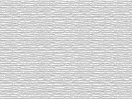 White abstract seamless pattern. Wavy uneven surface of corrugated paper. Vector simulation of a 3D texture